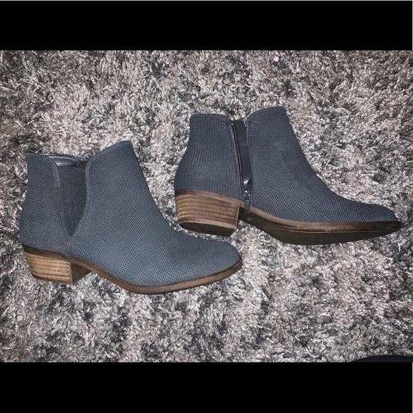 DSW Shoes | Navy Blue Booties | Poshmark